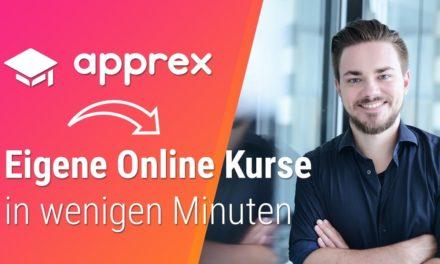 Eigene Online Kurse erstellen & verkaufen ► DAS kann apprex
